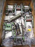 Deutz 545 diverse onderdelen voor cilinderkop - Deutz 545 tuimelaars