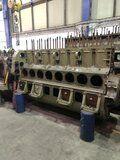Smeeroliekoeler MWM 440 - MWM 440 8 cilinder motorblok