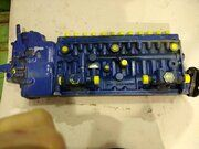 Deutz 816 Smeerolieleidingen - Deutz 816 Brandstofpomp V12