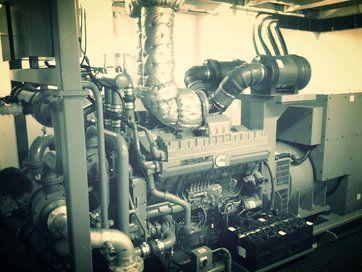 Scheepsmotoren - Generatorsets