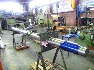 Propulsion line - Propellor shafts